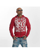 Yakuza Too Short Zip Hoody Ribbon Red