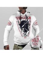 Yakuza Sweat à capuche Ninja blanc