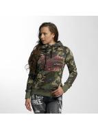 Yakuza Sweat à capuche Military Lady camouflage