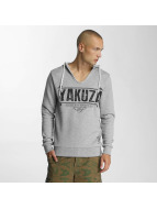 Yakuza Sweat à capuche Poverty gris