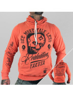Yakuza Sweat à capuche Evaluation orange