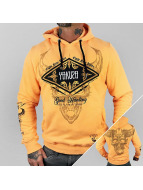 Yakuza Sweat à capuche Good Hunting orange