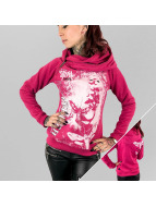 Yakuza Sweat à capuche Spirit rose