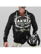 Yakuza Sweat à capuche zippé Flying High noir