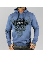 Yakuza Sweat capuche Good Hunting bleu