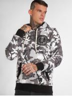 Yakuza Sicario Hoody Camouflage Grey
