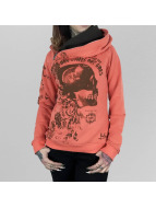 Yakuza Sweat capuche One Comes orange