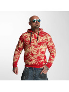 Yakuza Sweat capuche Gunner Allover rouge