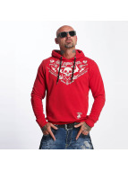 Yakuza Sweat capuche F.W.F. rouge