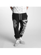 Yakuza Sweat Pant 2Face black