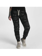 Yakuza Sweat Pant Allover Snake black