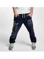 Yakuza Sweat Pant Fight Faith blue