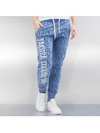 Yakuza Sweat Pant Jesus or Cocaine blue