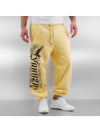 Yakuza Sweat Pant Commandments yellow