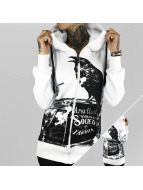 Yakuza Sweatvest Crow wit