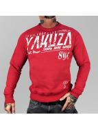 Yakuza Swetry Gentleman Club czerwony