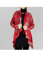 Yakuza Swetry rozpinane 893 Allover czerwony