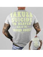 Yakuza T-paidat Suicide In Heaven harmaa