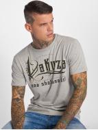 Yakuza One Shot T-Shirt Light Grey Melange