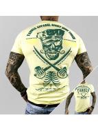 Yakuza T-paidat Fight Faith keltainen