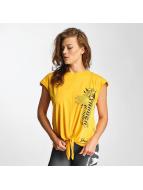 Yakuza T-paidat Bandeau keltainen