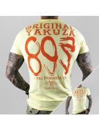 Yakuza T-paidat Respuesta keltainen