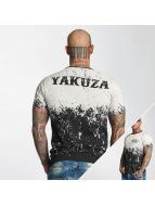 Yakuza T-paidat Splatter musta
