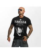 Yakuza T-paidat Daily Skull musta