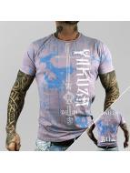 Yakuza T-paidat Dark Side purpuranpunainen