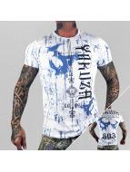 Yakuza T-paidat Dark Side valkoinen