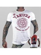 Yakuza T-paidat Crushing The Desprised valkoinen