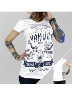 Yakuza T-paidat Legends valkoinen