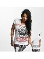 Yakuza T-paidat Circus Inferno valkoinen