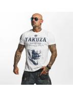 Yakuza T-paidat Daily Skull valkoinen