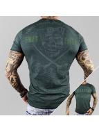 Yakuza T-paidat Fight Faith vihreä