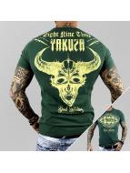 Yakuza T-paidat Good Hunting vihreä