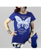 Yakuza T-Shirt Moth Limpid blau