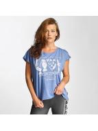 Yakuza T-Shirt Out Of Control Wide Crew blau
