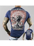 Yakuza t-shirt Crushing The Desprised blauw