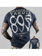 Yakuza t-shirt Respuesta blauw