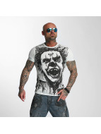 Yakuza t-shirt King blauw