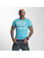 Yakuza t-shirt Violent Society blauw