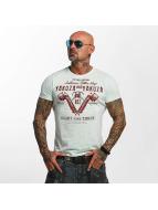 Yakuza T-Shirt Tattoo Shop bleu