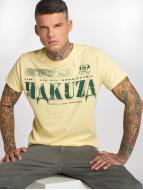 Yakuza t-shirt Kokain geel