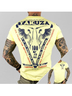 Yakuza t-shirt Happy Hour geel