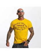 Yakuza t-shirt Smoking Seriously geel