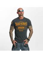 Yakuza T-Shirt Blaze N Glory grau