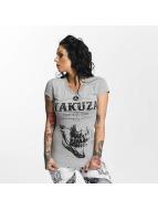 Yakuza T-Shirt Daily Skull grau