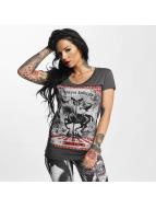 Yakuza t-shirt Circus Inferno grijs