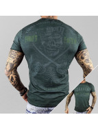Yakuza t-shirt Fight Faith groen